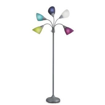 Colored Floor Lamps: multi colored floor lamp photo - 1,Lighting