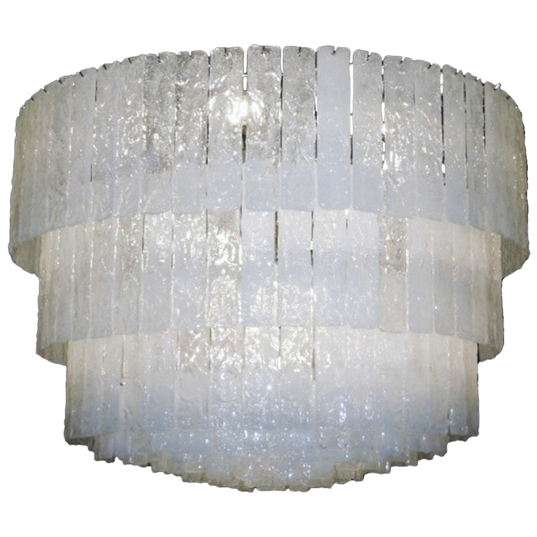 murano glass ceiling light photo - 2