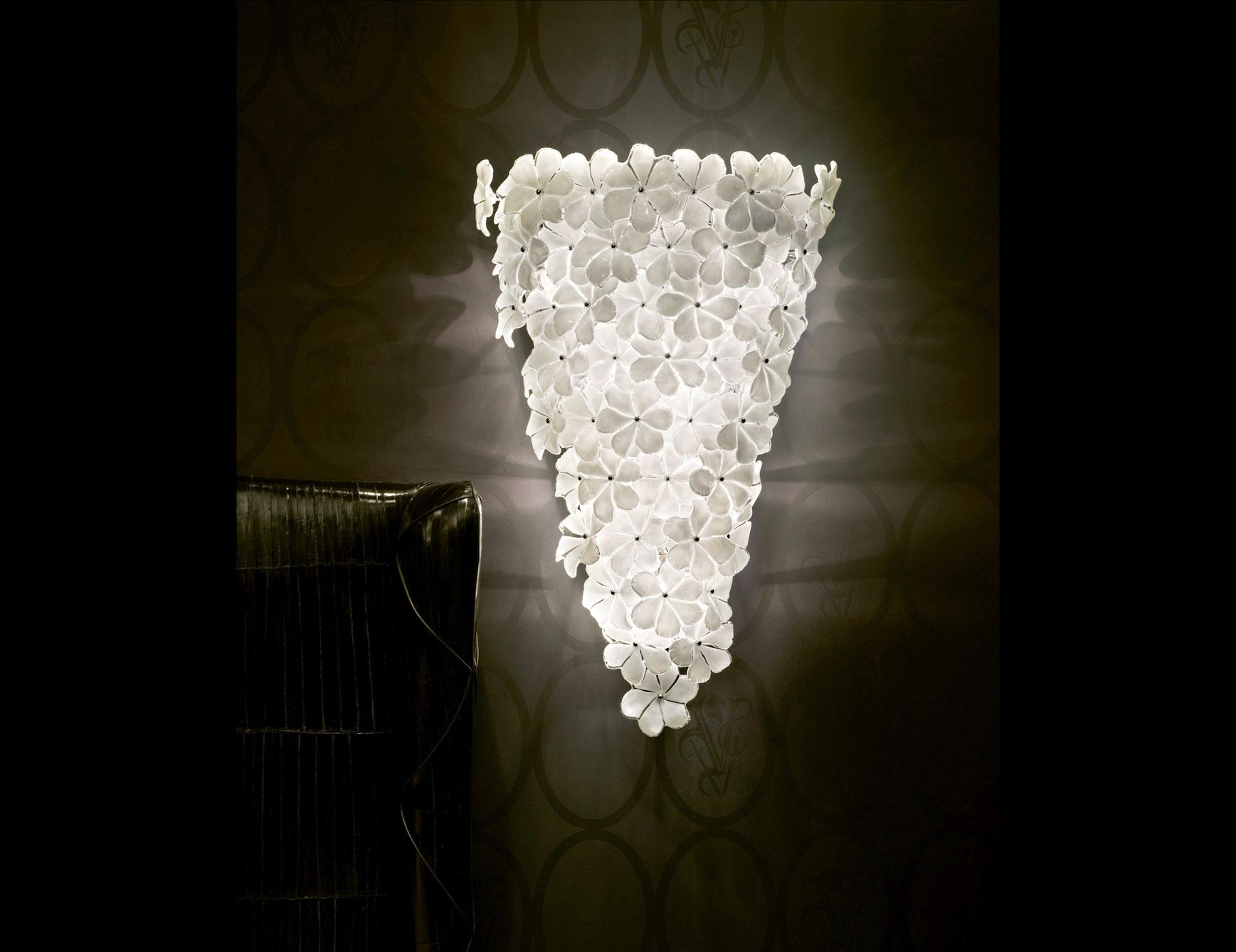 murano wall lights photo - 2