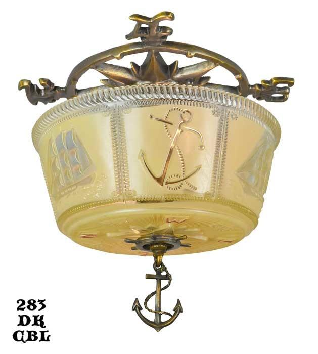 nautical ceiling lights photo - 2