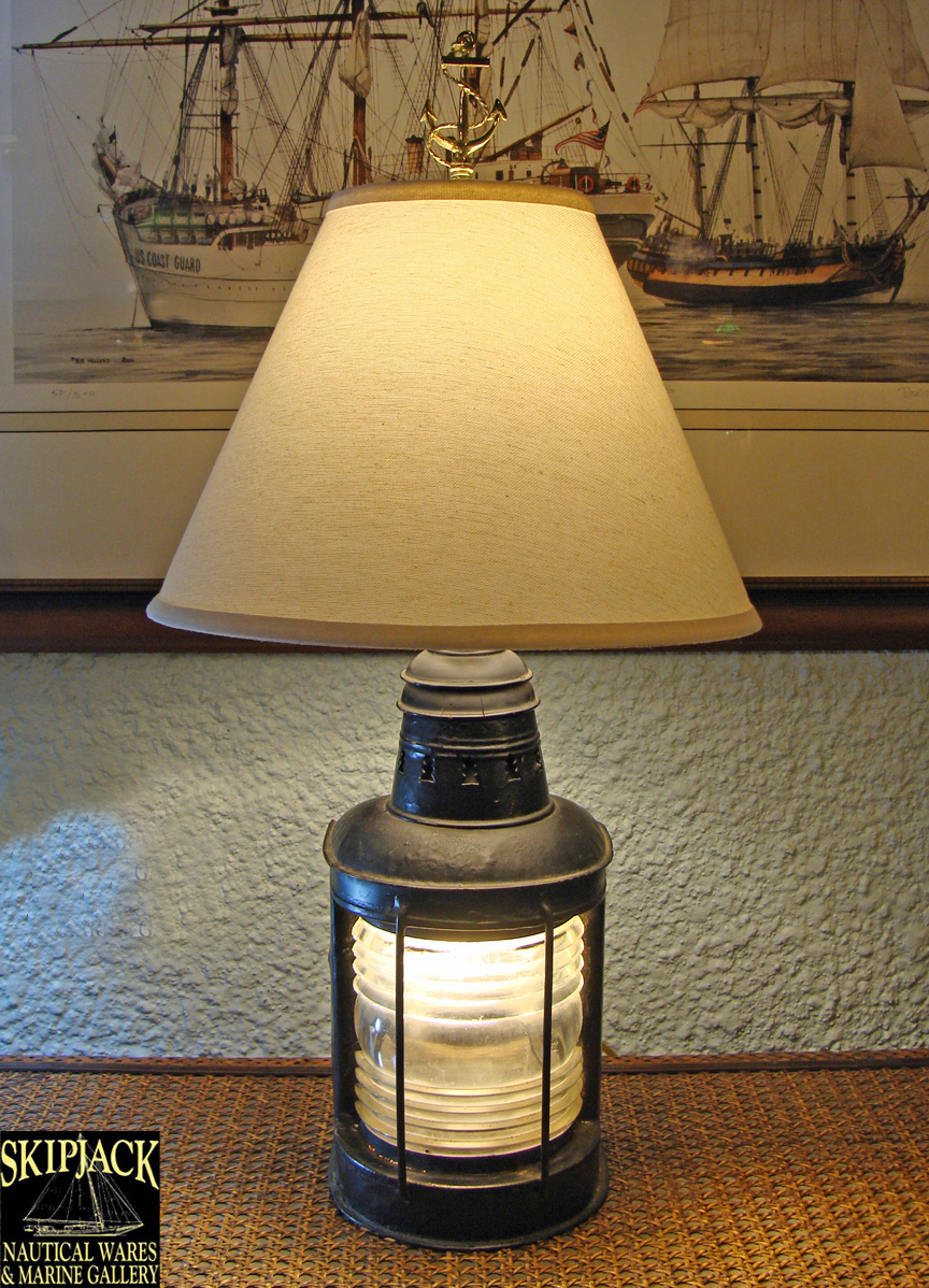 nautical table lamps photo - 1