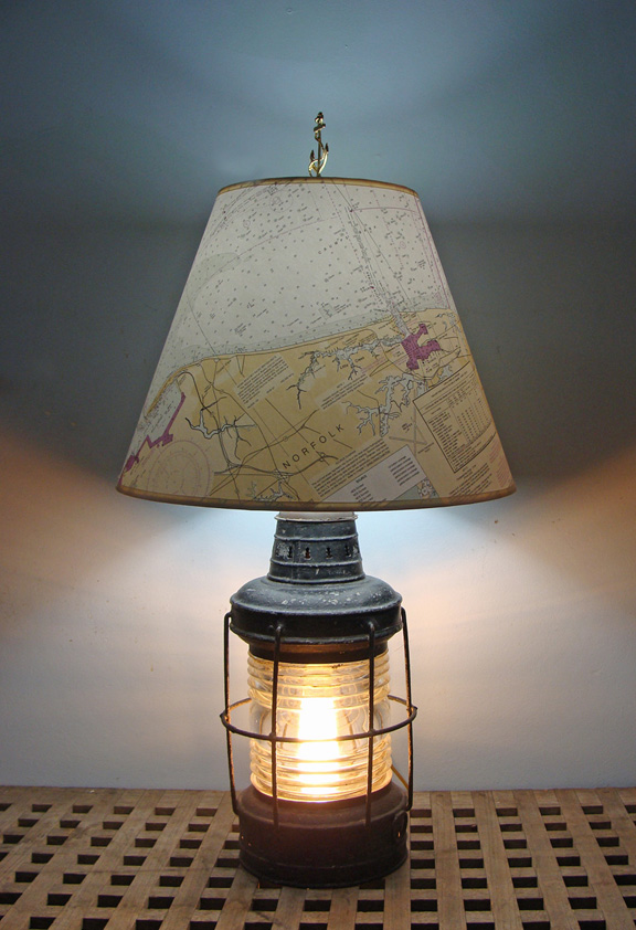 nautical table lamps photo - 10