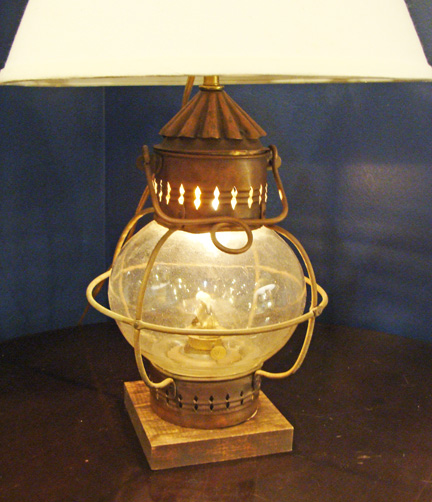 nautical table lamps photo - 4