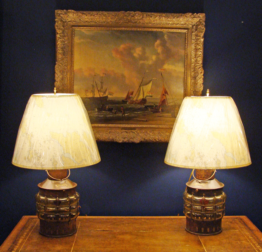 nautical table lamps photo - 8