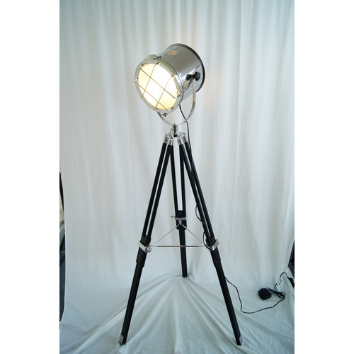 nautical tripod floor lamp photo - 10
