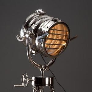 nautical tripod floor lamp photo - 5