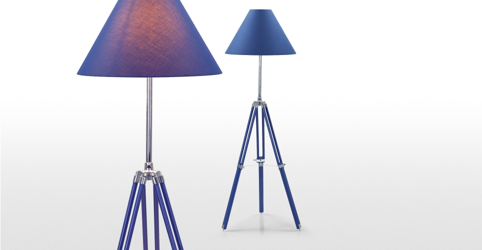 nautical tripod floor lamp photo - 7