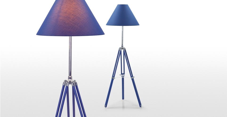 nautical tripod floor lamp photo - 7