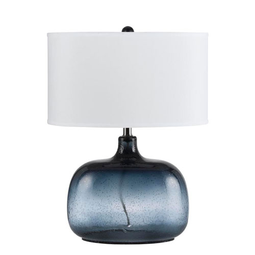 navy blue lamps photo - 1