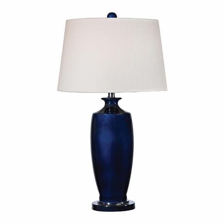 navy blue lamps photo - 10