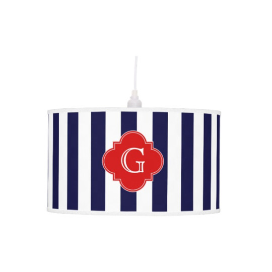 navy blue lamps photo - 6