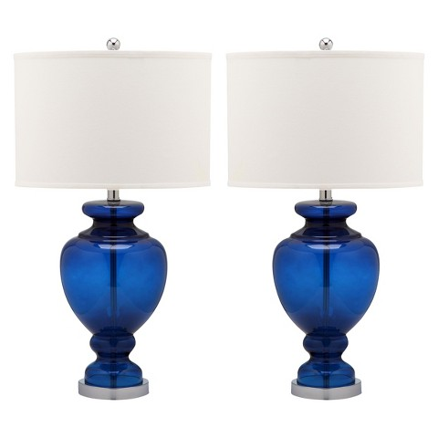 navy blue table lamps photo - 1