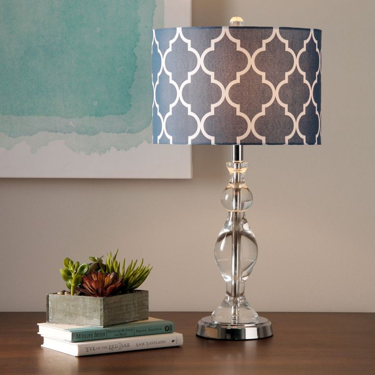 navy blue table lamps photo - 10