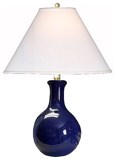 navy blue table lamps photo - 6