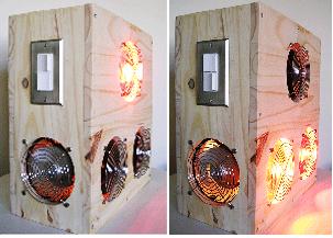 near infrared lamp sauna photo - 4