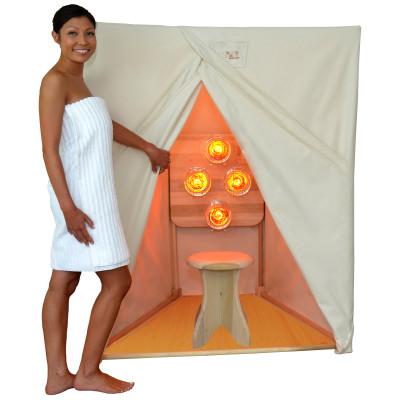 near infrared lamp sauna photo - 6