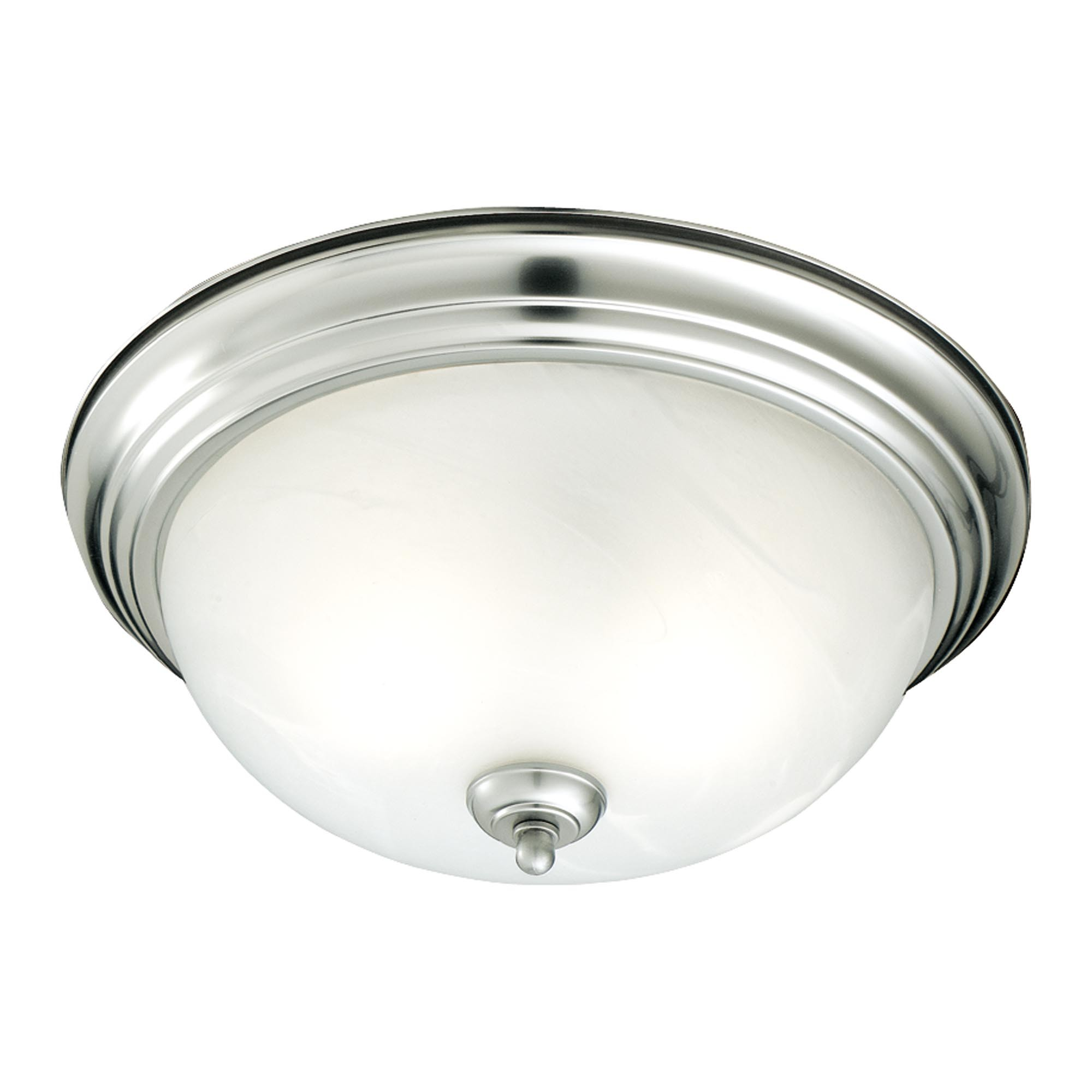 nickel ceiling lights photo - 2