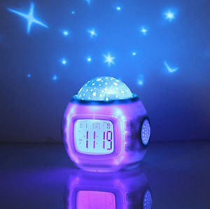night light wall clock photo - 4