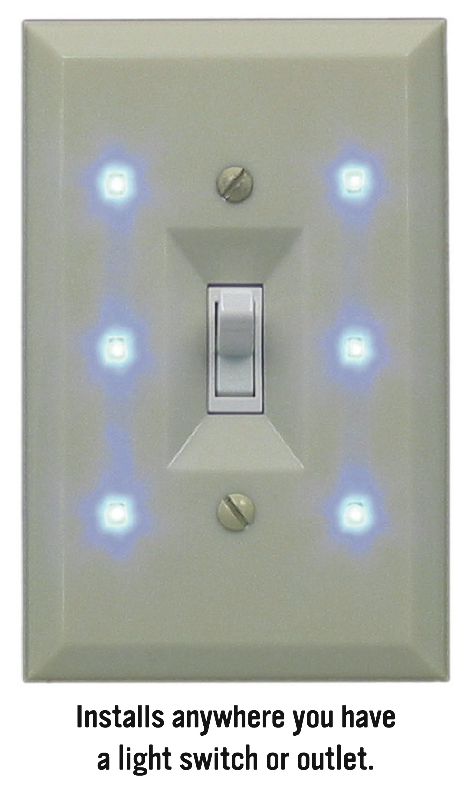 night light wall switch makes the life easier to live. Black Bedroom Furniture Sets. Home Design Ideas