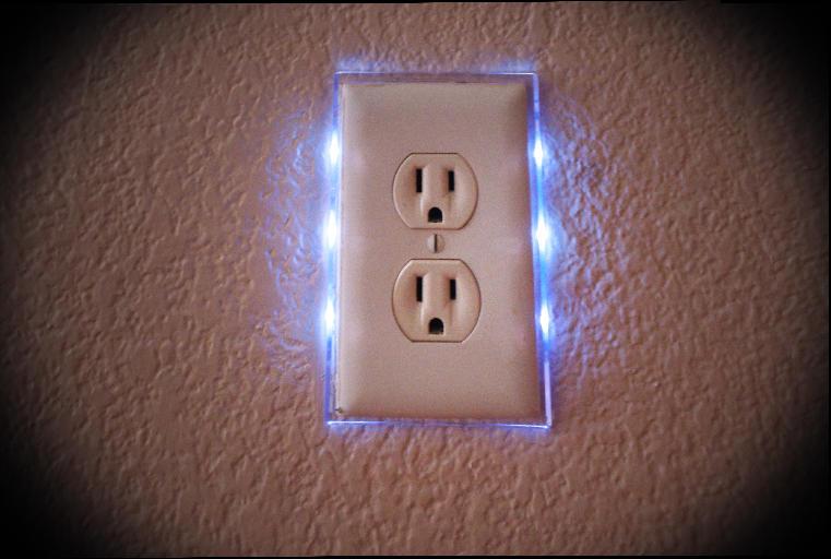night light wall switch photo - 4