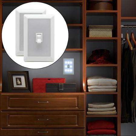 night light wall switch photo - 9