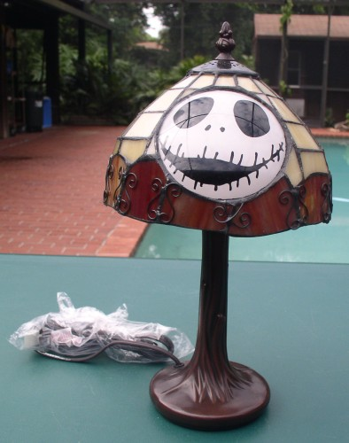 nightmare before christmas lamp photo - 2