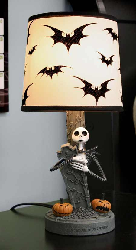 nightmare before christmas lamp photo - 7