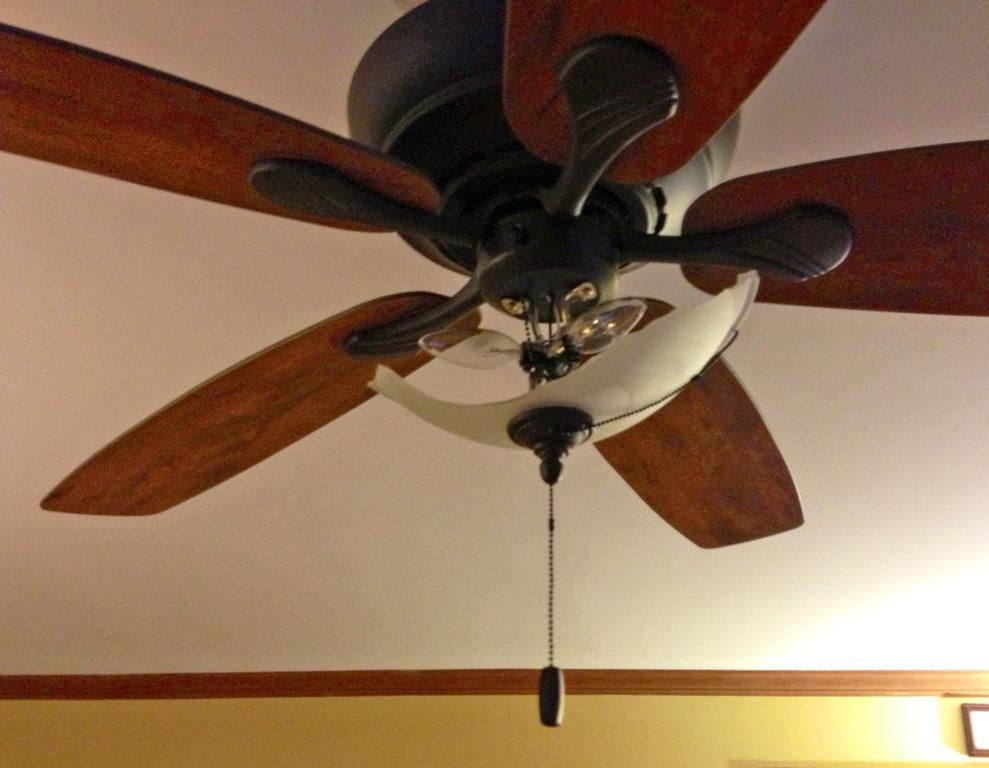 Broken ceiling fans integralbook ceiling fan broken u0027said he was fixing the mozeypictures Images