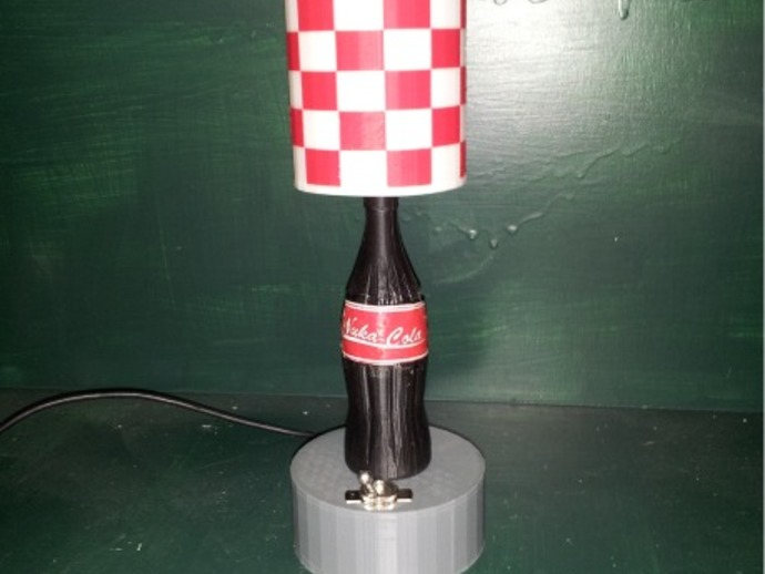 nuka cola lamp photo - 2