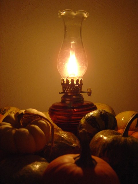 oil burning lamps photo - 2