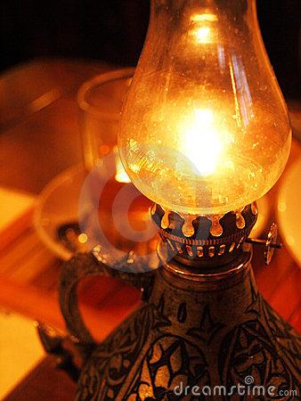 oil burning lamps photo - 9