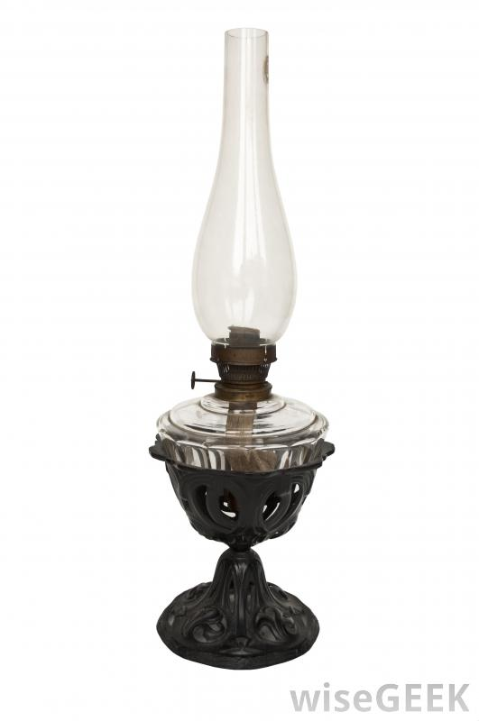 oil lamp glass photo - 5