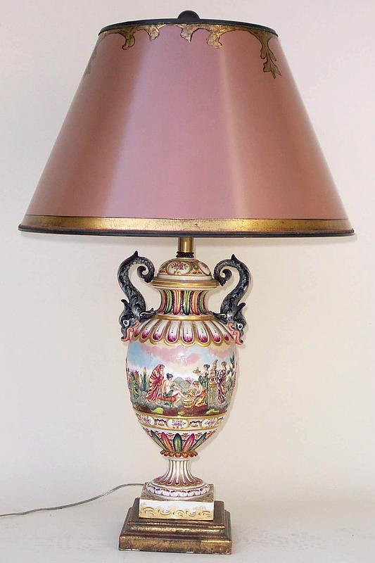old antique lamps photo - 4