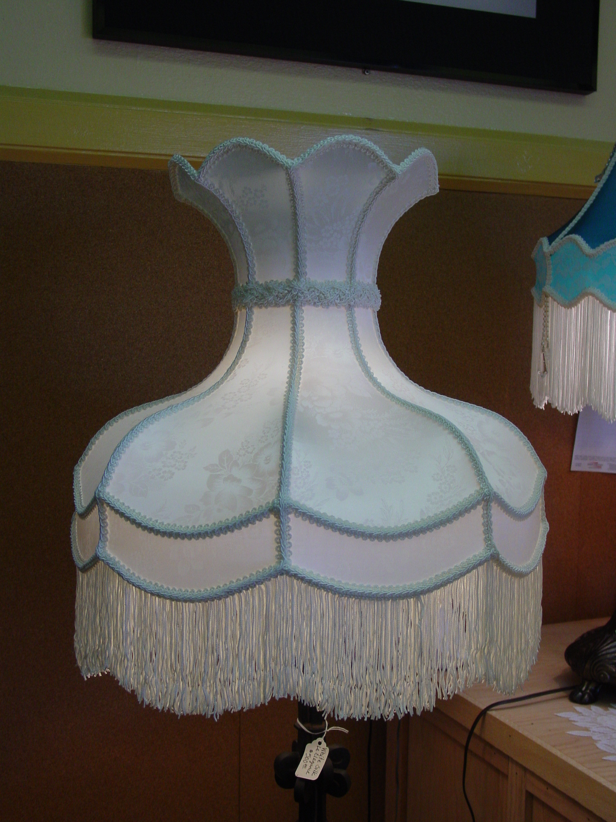 Old Fashioned Lamp Shade: Retro Lamp Shades Source. Stiffel Lamp Shades For The Original Vine Styles,Lighting