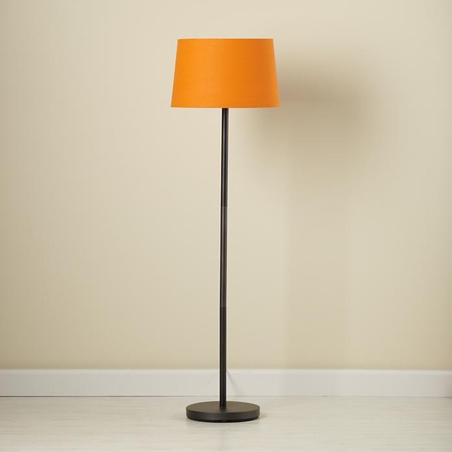 orange floor lamp photo - 10