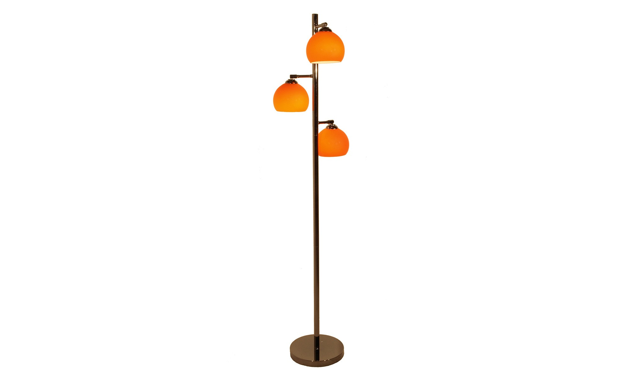 orange floor lamp photo - 3