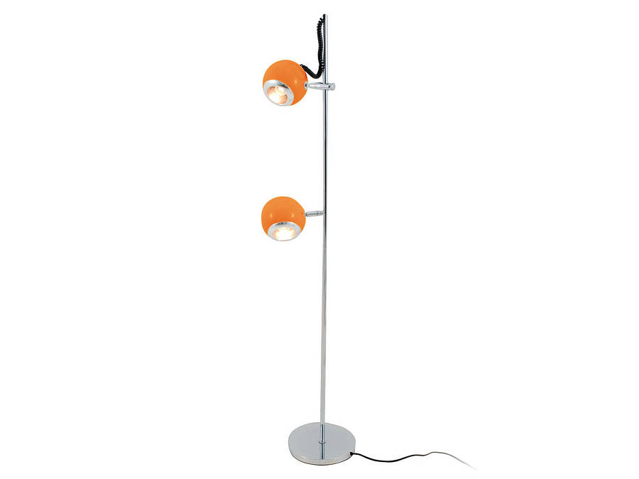 orange floor lamp photo - 8