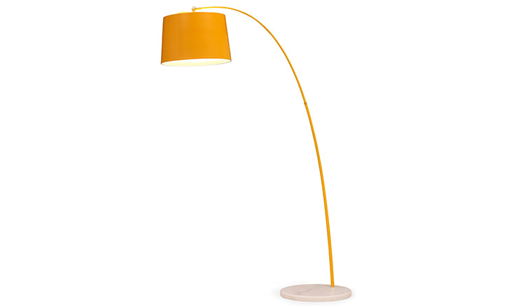 orange floor lamp photo - 9