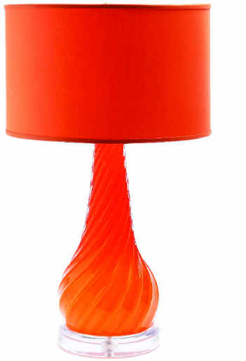 orange lamps photo - 8