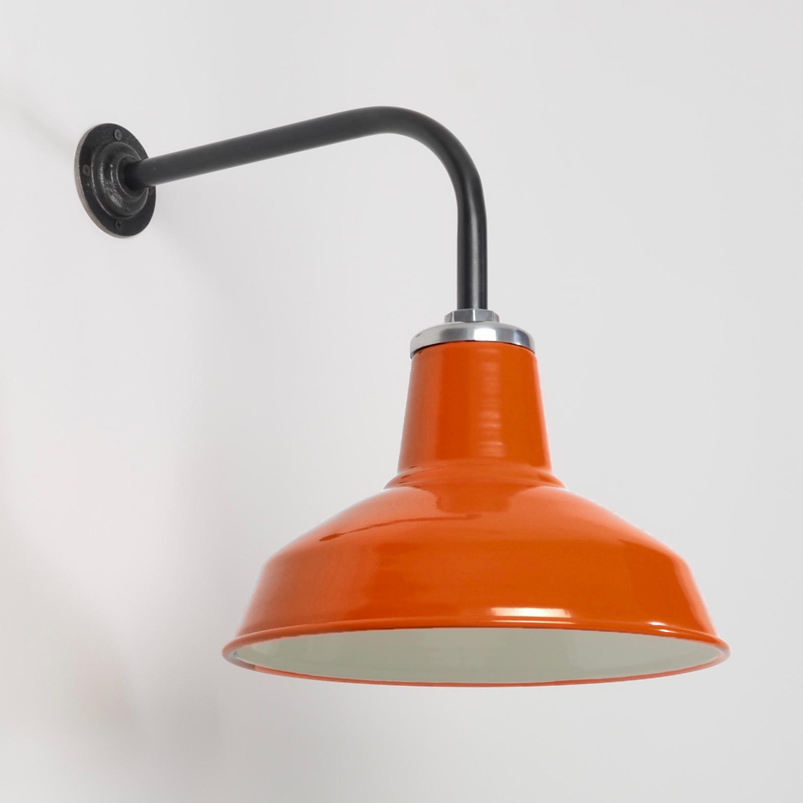 orange wall light photo - 7