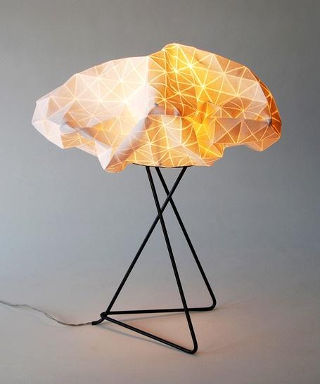 origami lamp photo - 2
