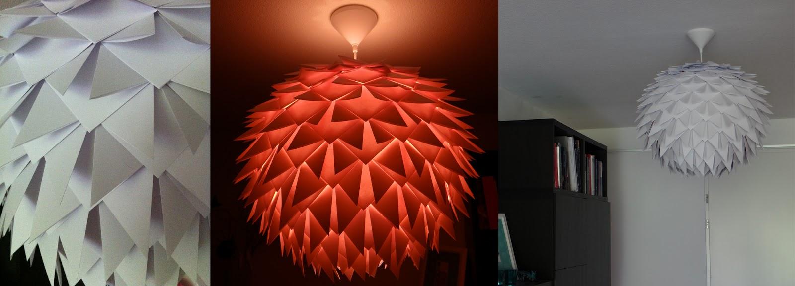 origami lamp photo - 3