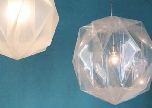 origami lamp photo - 7