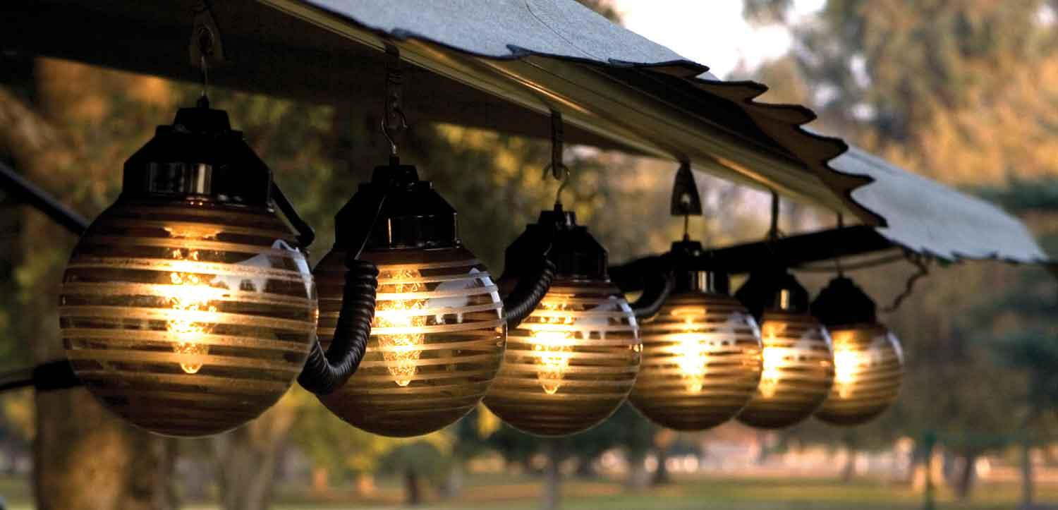 outdoor awning lights photo - 6