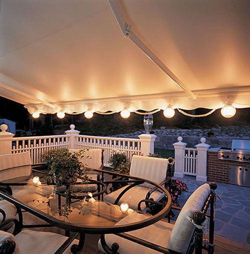 outdoor awning lights photo - 9