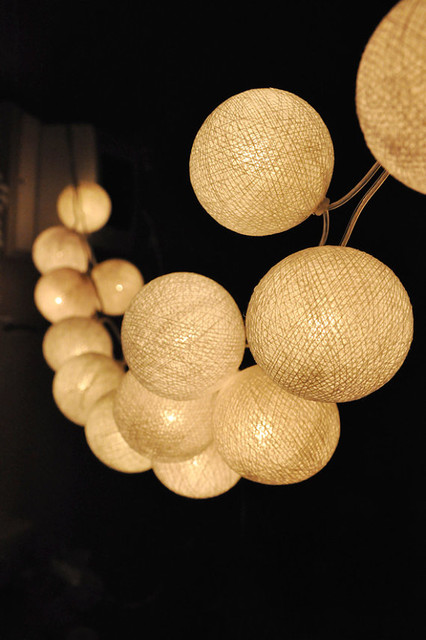 outdoor ball lights photo - 4