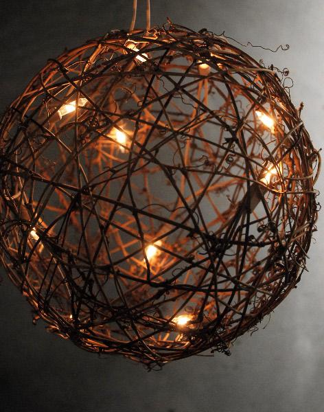 outdoor ball lights photo - 8