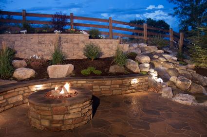 outdoor brick wall lights photo - 5