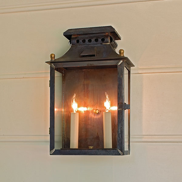 Outdoor Copper Lights Photo   1