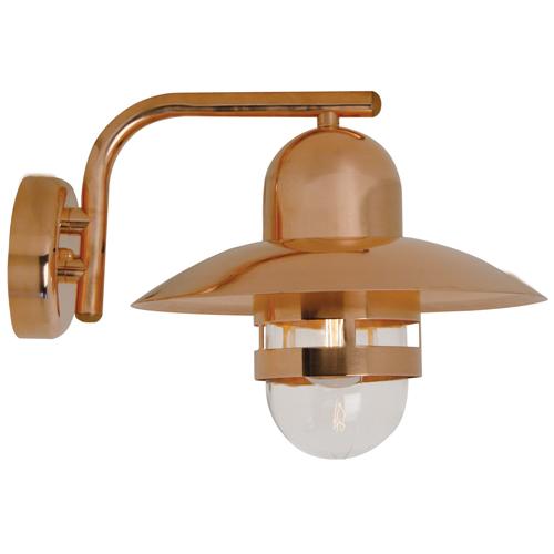 outdoor copper lights photo - 3